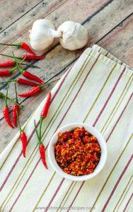 hot garlic chili sauce