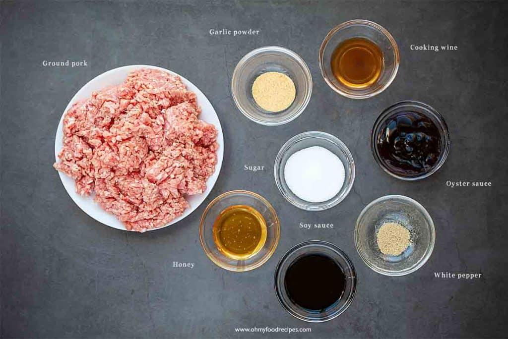 Chinese pork jerky ingredients