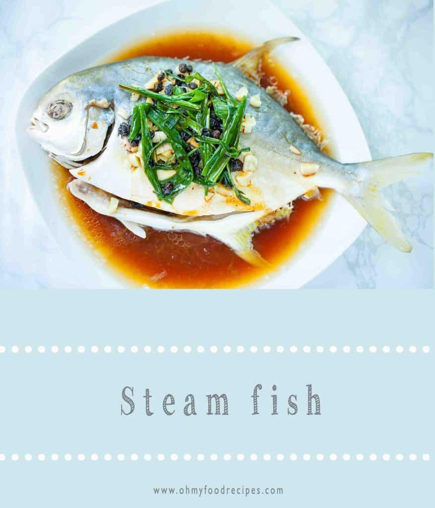 Steam whole fish recipe