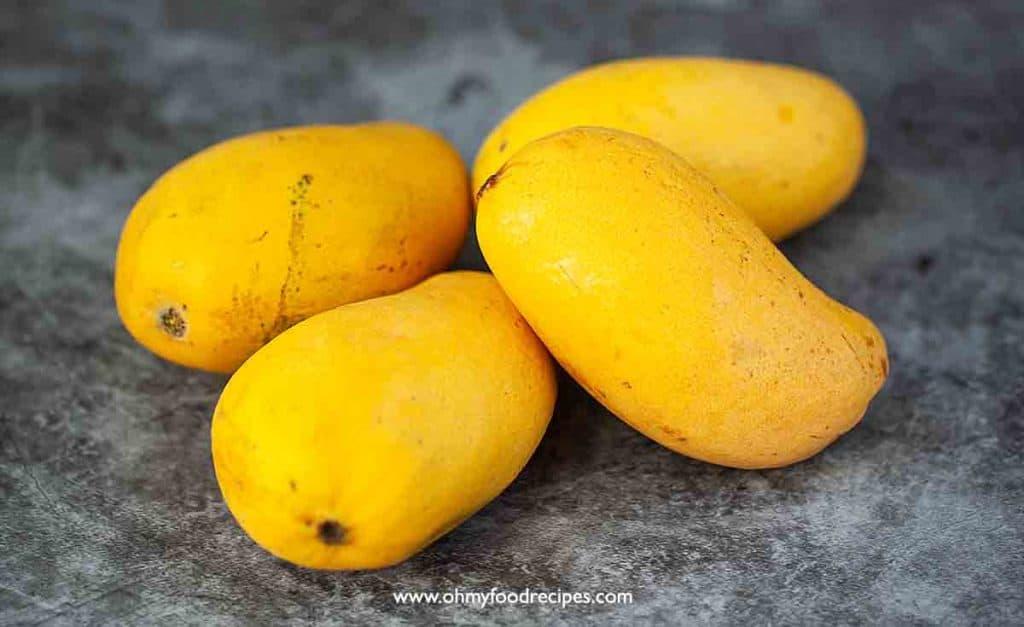 fresh Ataulfo mangoes