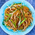 pan fried soy sauce noodles