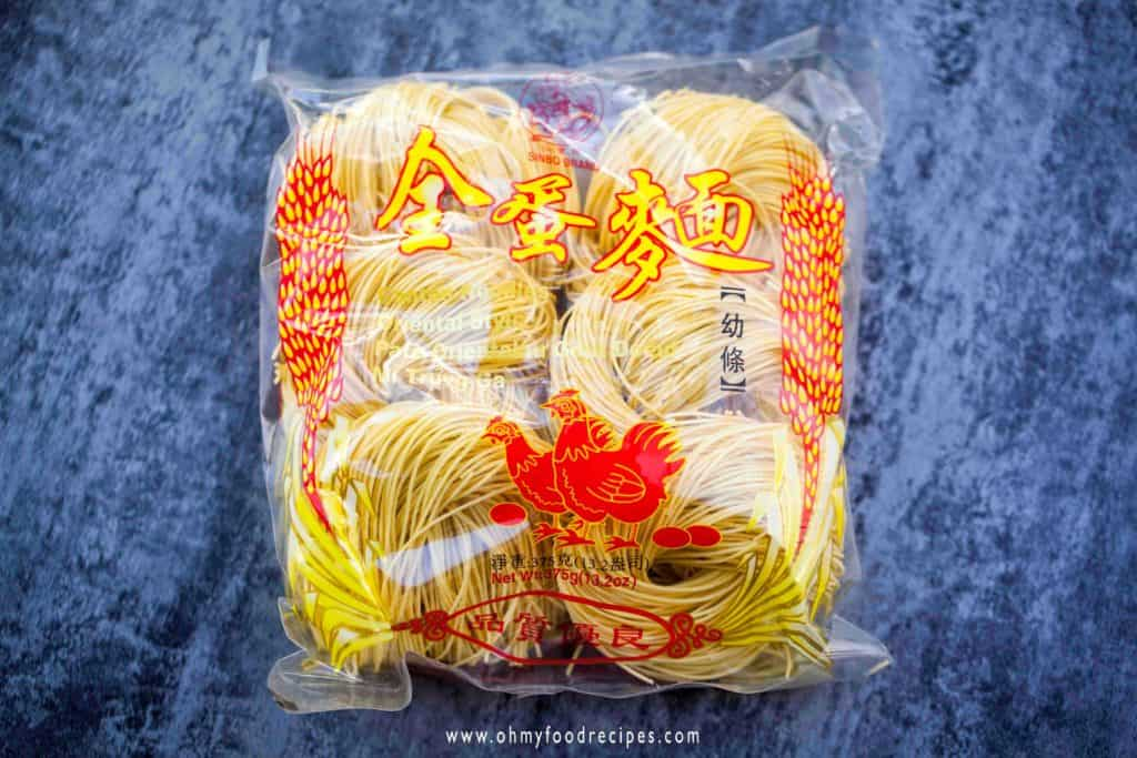 dried chinese egg noodles