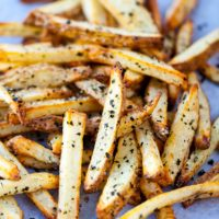 air fryer french fries with seasoning