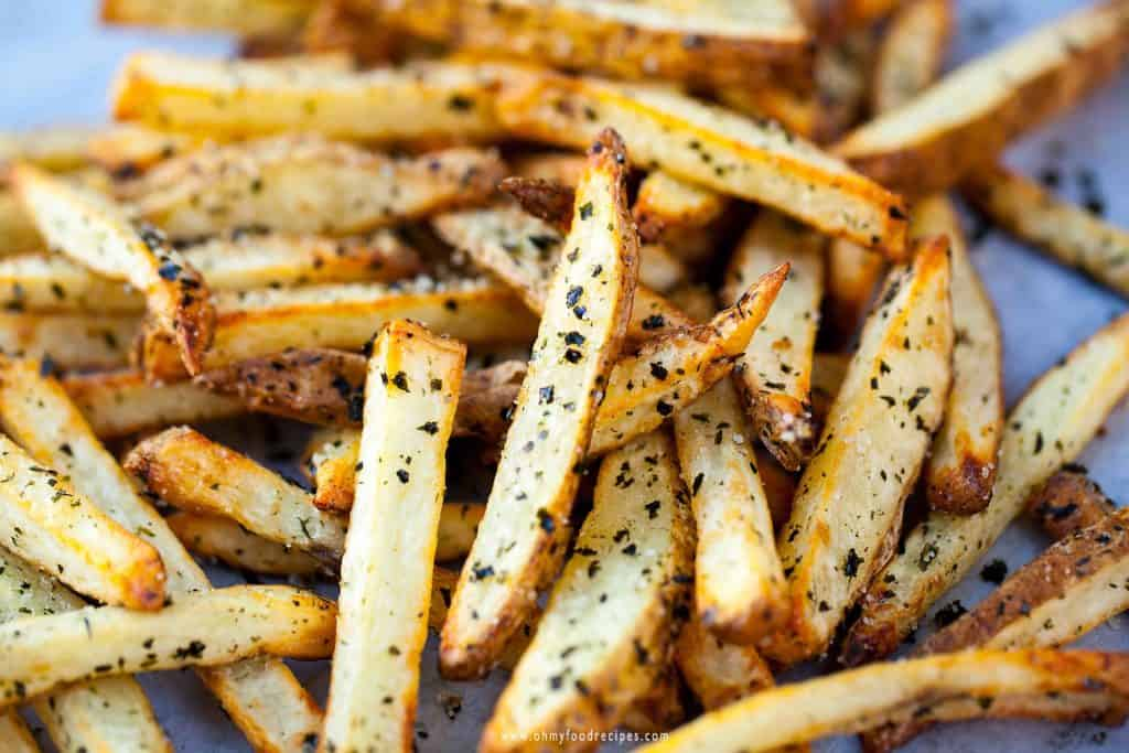 air fryer french fries with oriental flavor seasoning recipe