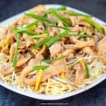 chicken yi mein chinese noodles