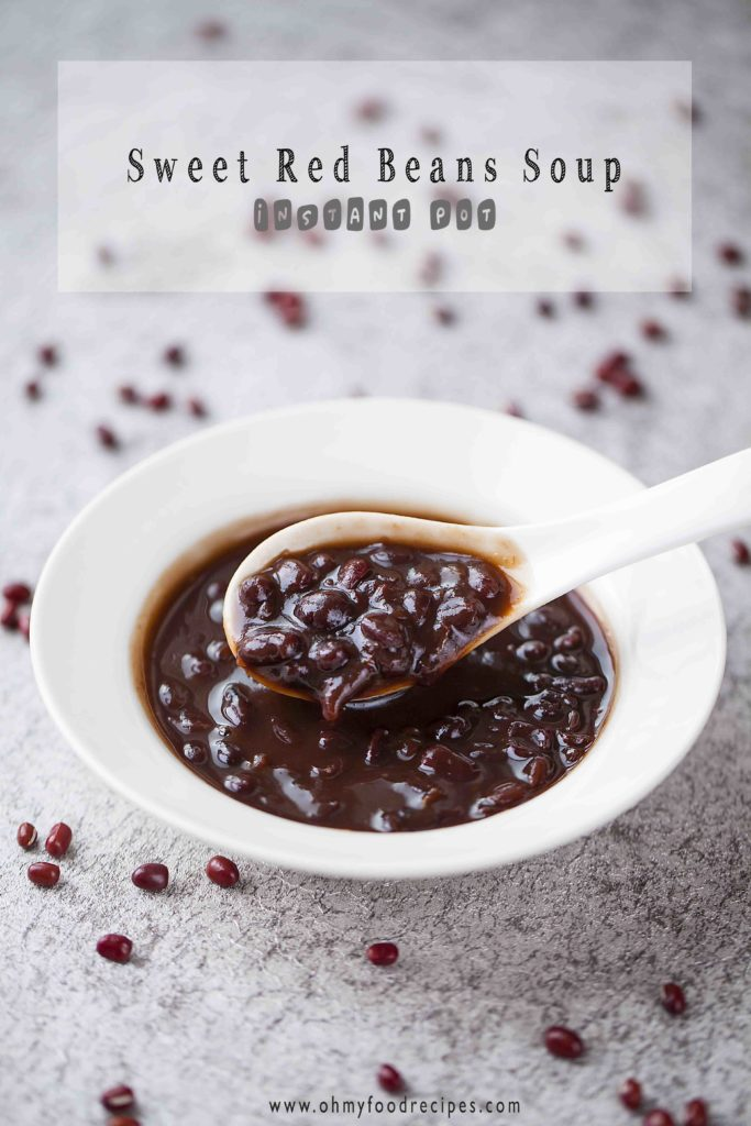 Sweet red bean soup instant pot recipe