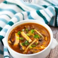 Hot & Sour Soup recipe