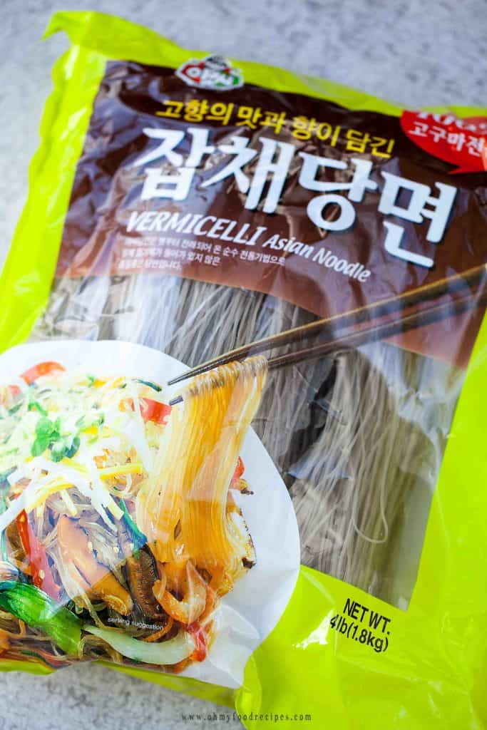 Korean dried glass noodles