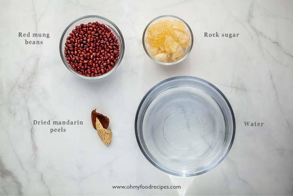 hong dou tang ingredients