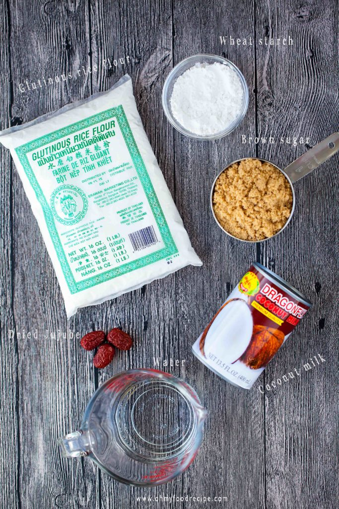 nian gao ingredients instant pot recipe