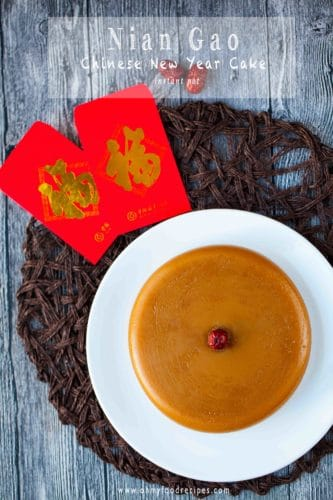 Nian gao instant pot recipe Chinese New year cake