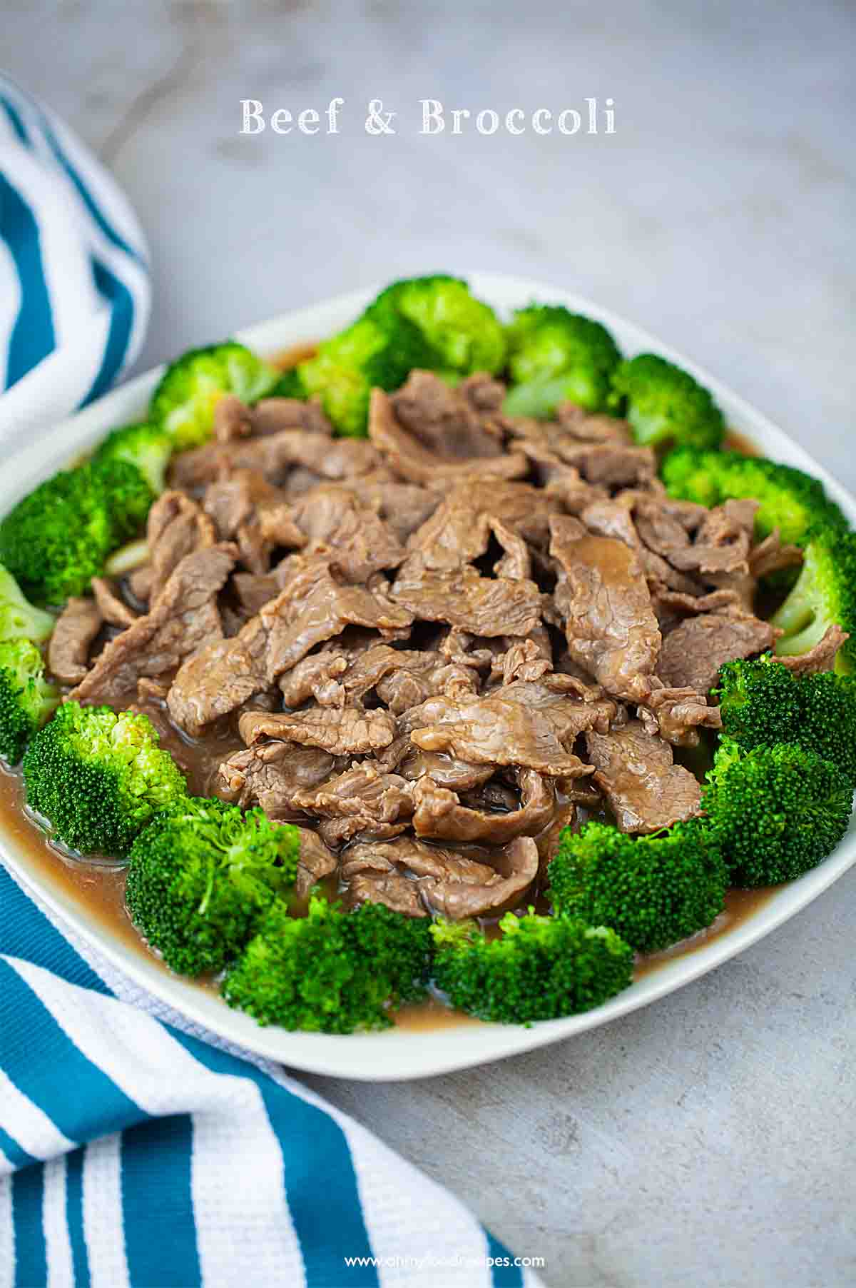 Authentic Chinese beef and broccoli