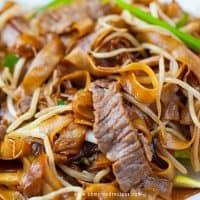 beef chow ho fun recipe