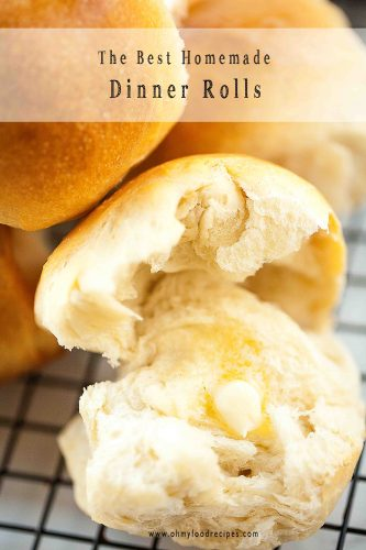 Dinner rolls homemade recipe