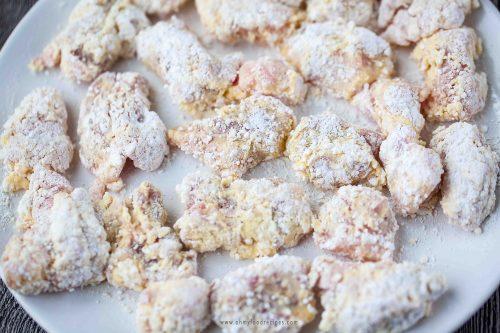 pork batter with flour