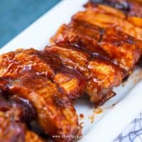 simple BBQ ribs instant pot recipe