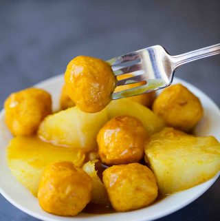 curry fish ball and radish recipe
