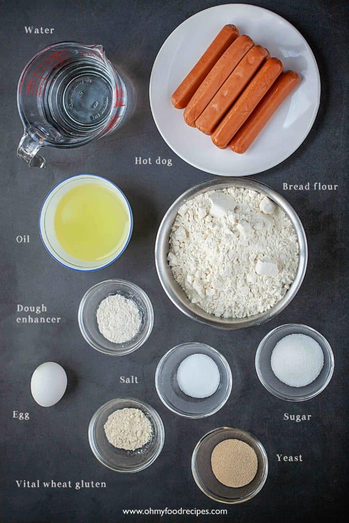 Chinese hot god buns ingredients