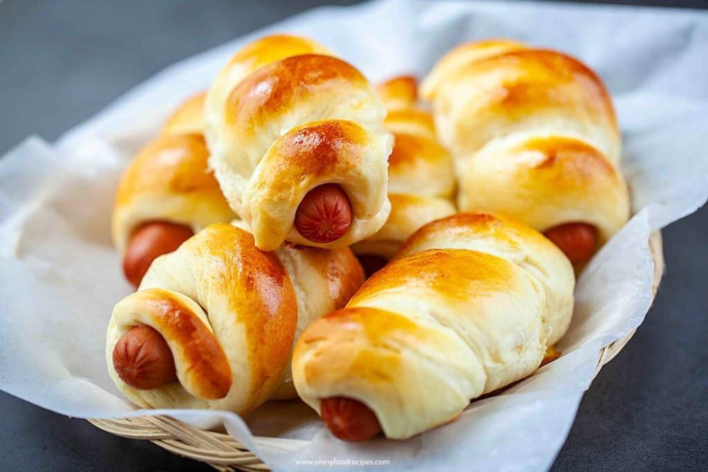 Chinese Hot dog buns 腸仔包