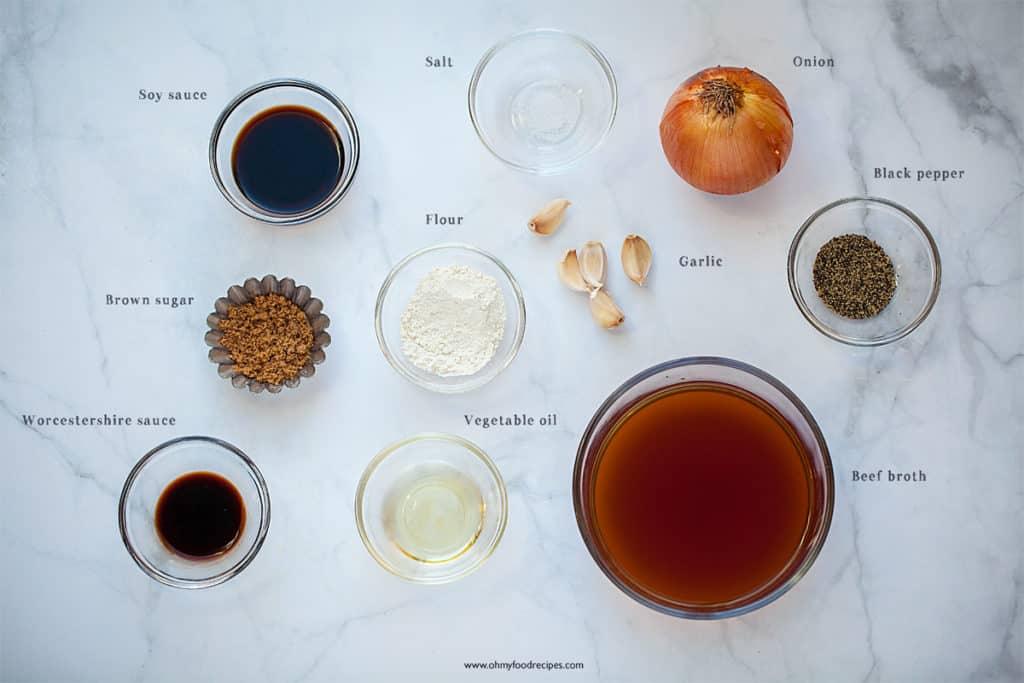 display black pepper sauce ingredients