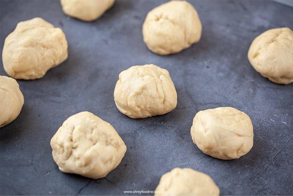 divide bread doughs