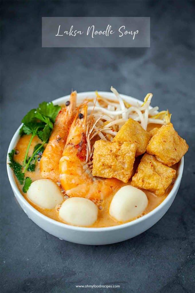 laksa soup noodles
