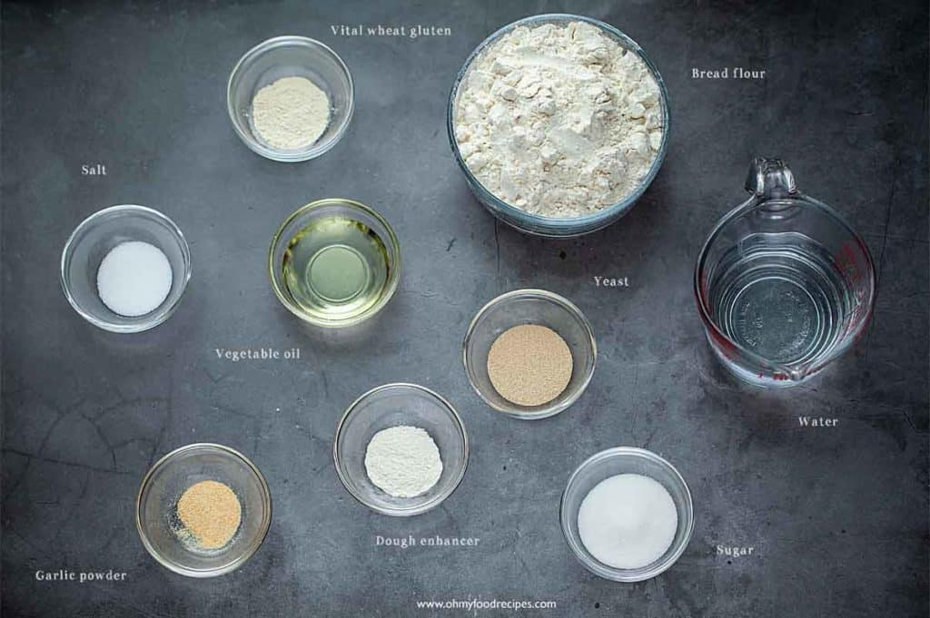 breadsticks dough ingredients
