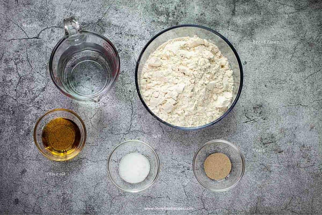ciabatta bread ingredients
