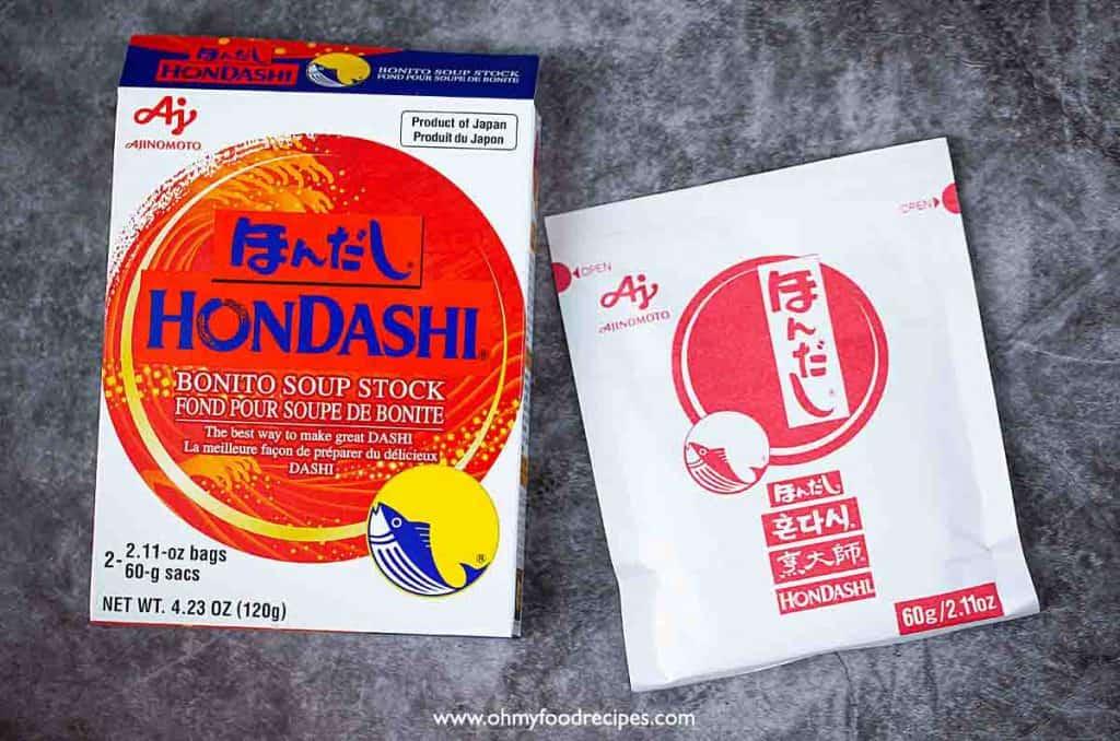 hondashi package