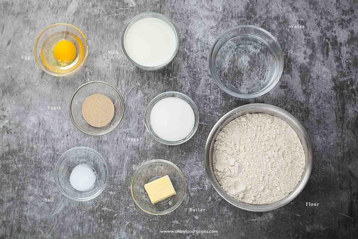 homemade sugar donuts ingredients