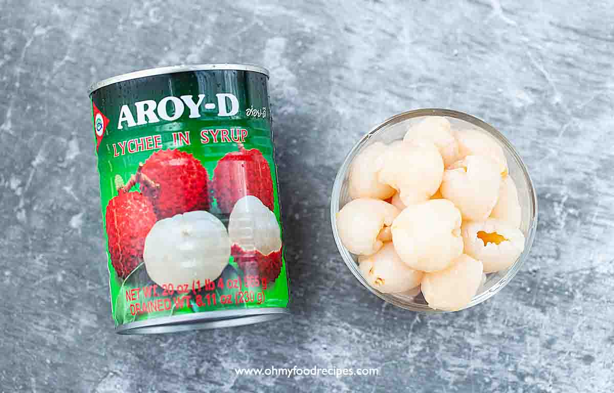 Aroy-D canned lychee